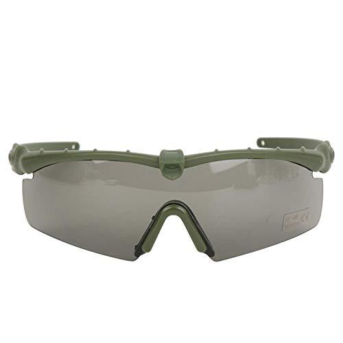 DAUERHAFT Material de PC de Calidad Mano de Obra Exquisita Gafas tácticas Protección Ocular Militar, Militar(Army Green)