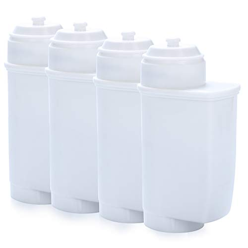 Wasserfilter für Siemens EQ 6/9, 4er Pack Ersatz Wasserfiltern Kompatibel mit Siemens Kaffeevollautomat EQ. Serie, Brita Intenza Wasserfilter TZ70003, TZ70033, TCZ7003, TCZ7033, Bosch 12008246
