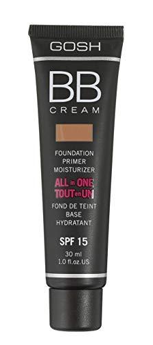 GOSH BB cream foundation, primer, moisturiser (04 chestnut) by Gosh
