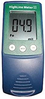 Elcometer Highline Meter II Highline Meter II Paint and Thickness Coating Gauge; 0-40 mils