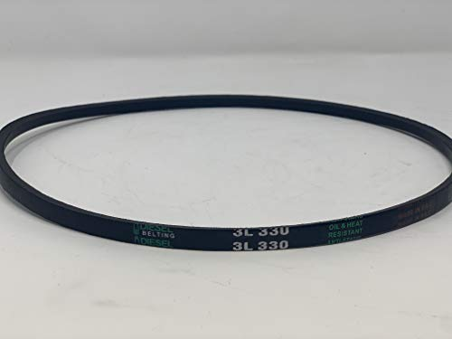 3L330 V-Belt 3/8in x 33in Outside Circumference FHP Wrapped