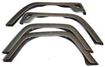 Rugged Ridge 11603.02 Factory Style Fender Flare Kit - 4 Pieces for 1997-2006 Jeep Wrangler TJ Models