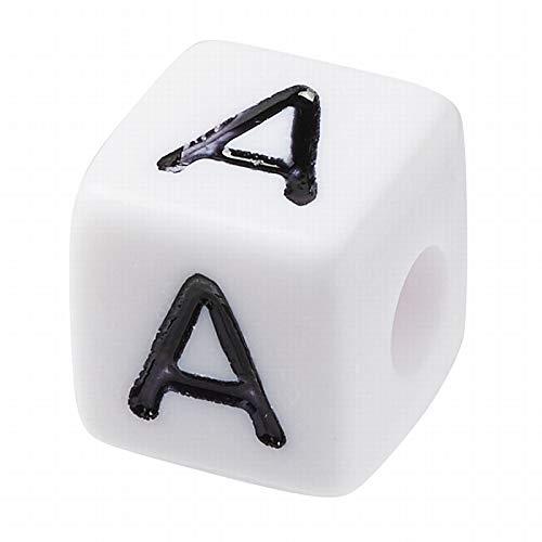 Hobbyfun Buchstaben-Würfel 10 mm, A, Kunststoff, 1 Stück
