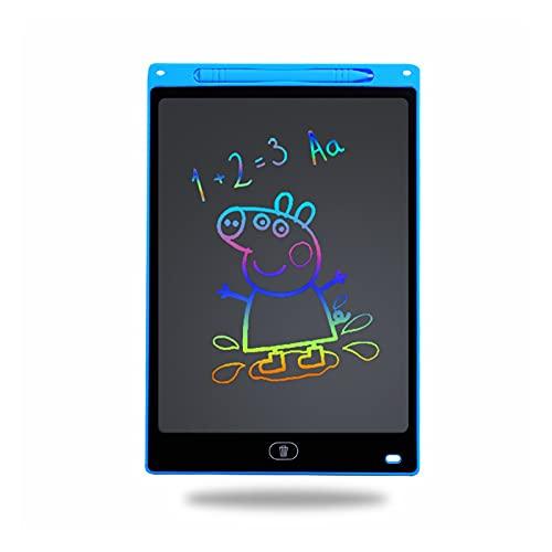 LUYOYO Tableta de escritura LCD de 12 pulgadas de 12 pulgadas de dibujo digital Tabletas de escritura a mano Tabletas electrónicas portátiles Tabletas de dibujo con bolígrafo. Color rosa