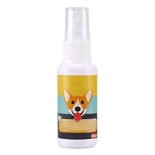 Shenrongtong 30 Ml Espray De La Ayuda del Entrenamiento del Retrete del Perro, Ayuda Portátil para El Entrenamiento del Orinal para Mascotas Spray Corrector De Mascotas para Perros