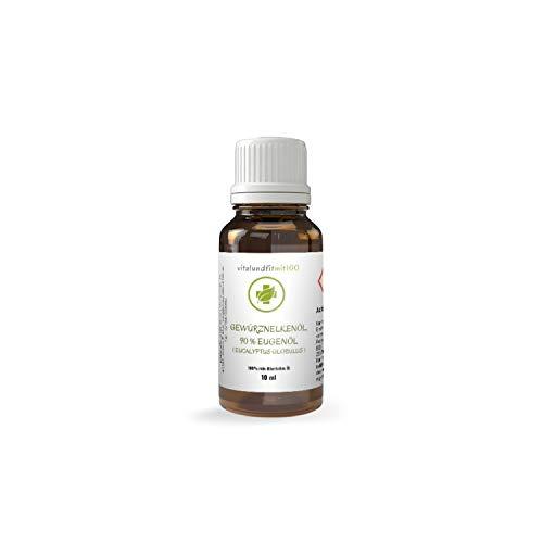Gewürznelkenöl, 90prozent Eugenol - 10 ml - syzygium aromaticum - 100prozent naturreines ätherisches Öl