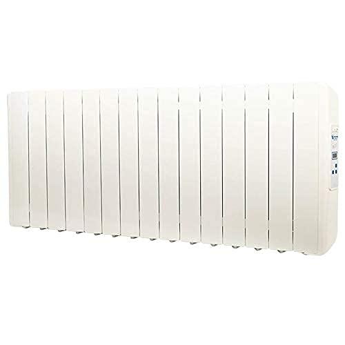 farho Radiador Electrico Eco Green 1650W (15) · Emisor Termico con Termostato Digital Programable 24 7 · Radiadores Electricos Bajo Consumo para Estancias de hasta 25 m² · 20 AÑOS DE GARANTÍA