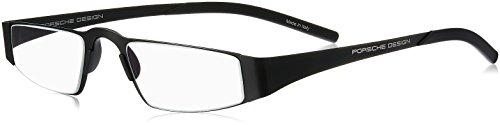 Leesbril Porsche Design P'8811a full titanium zwart +1.00