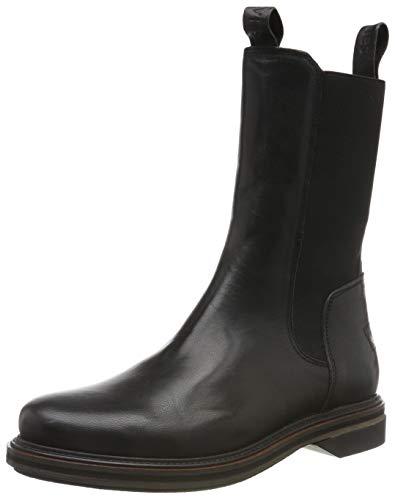 Shabbies Amsterdam Damen Anna Chelsea Boots, Schwarz (Black 0028), 41 EU