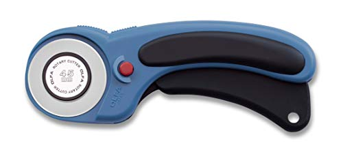 OLFA 1136602 RTY-2DX/PBL Rotary Cutter, Pacific Blue