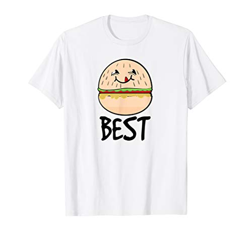 Best Friends Hamburger Burger & Fries gift summer festival T-Shirt