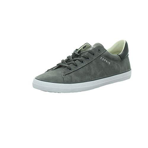 ESPRIT Damen Sneaker Schnürhalbschuh sportlicher Boden 027EK1W004/E015 grau 247649