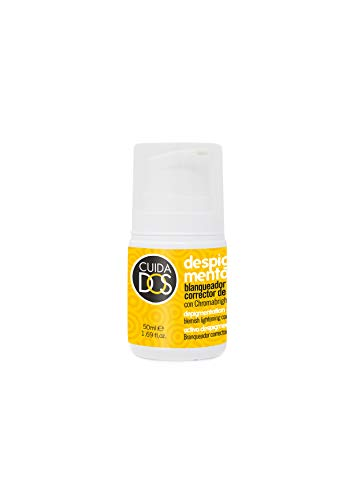 Cuidados Crema facial despigmentante antimachas - blanqueante con protección SPF 20. Reduce manchas piel. Activo de efecto blaqueador. Reduce manchas faciales- 50 ml