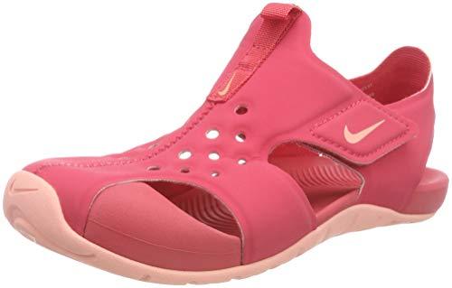 Nike Mädchen Sunray Protect 2 (ps) Sport Sandalen, Mehrfarbig (Tropical Pink/Bleach 600), 29.5 EU