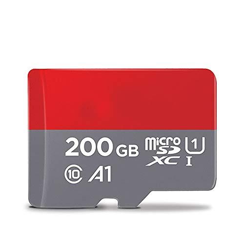 Zks Tarjeta De Memoria, Tarjeta De Memoria Flash De 256 GB De Memoria Máximo De 200 GB 128 GB Tarjeta De 64 GB 32 GB 16 GB De Memoria Microsd TF/SD Card