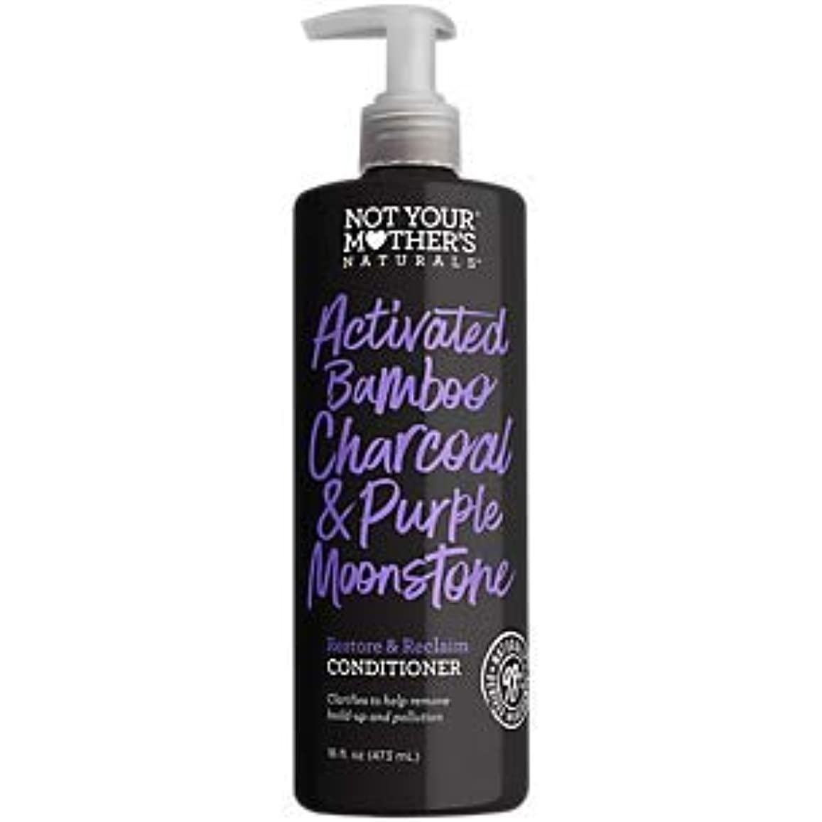 可動式晩餐速報NOT YOUR MOTHER'S Activated Bamboo Charcoal & Purple Moonstone Conditioner, 16 FZ 141[並行輸入]