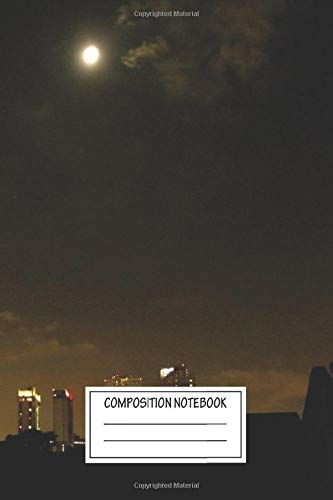 Composition Notebook: Landscapes New Orleans 2 Photography Wide Ruled Note Book, Diary, Planner, Journal for Writing
