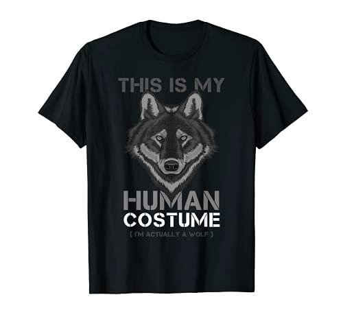 Divertido disfraz de Wolf I Wildlife Wolves Camiseta