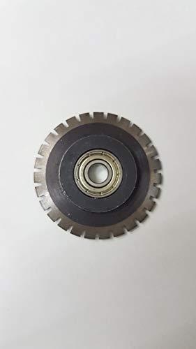 電動ミシン目加工 筋入れ加工 ペーパーカッター(裁断機) A3 卓上タイプ 1台3役 (専用ミシン刃)