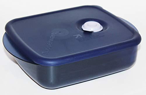 Tupperware Vent 'N Serve Medium Shallow in Indigo