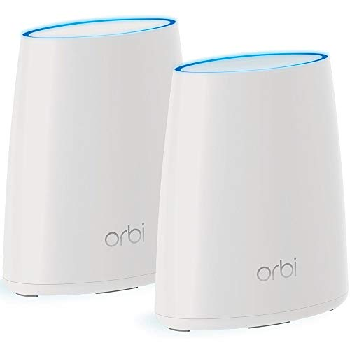 NETGEAR Orbi Whole Home Mesh WiFi System with Tri-band – Wireless router...