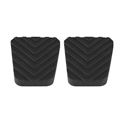 KIMISS - Almohadillas para pedal de embrague de freno de coche, 2 piezas de cubierta de pedal de fre