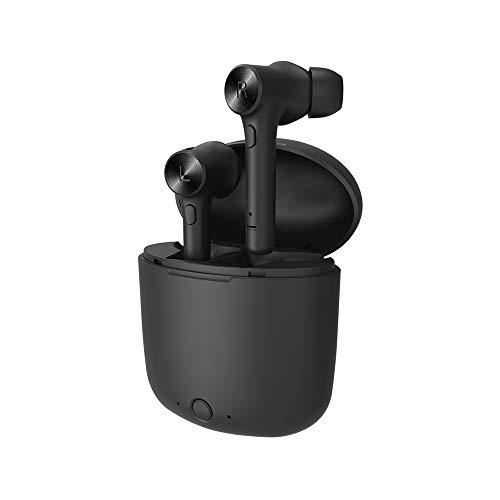 MINGRONG Los Auriculares inalámbricos Bluetooth controlan el Sonido estéreo con micrófono Incorporado para Auriculares de Auriculares con Auriculares de Deporte para teléfonos