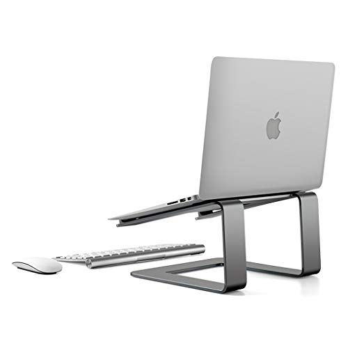 YBYB Laptop Stand Laptop Stand,Notebook Stand Ventilation,Notebook Stand Riser Stand For Apple Macbook Air/pro And All Notebooks11-15.6' Notebook Stand (Color : Gray)