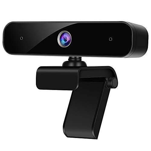N/H Webcam with Microphone for PC, 1080p HD Computer Web Camera, Plug and Play USB Webcam with Privacy Cover & Tripod for Desktop, Laptop,Video Calling Streaming, Conference,Video Calling, Studying