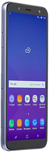 "Telefone Celular J600 Galaxy J6, Samsung, SM-J600GZVBZTO, 32 GB, 5.6"", Prata"