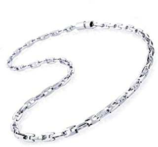 FOYLE Stainless Steel Men's Necklace  Silver