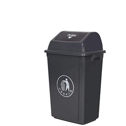 HFFFHA Extra Small Schwingdeckeleimer for Bad & Küche for Schlafzimmer Badezimmer, Küche, Garten |Müllentsorgung (Size : 60L)