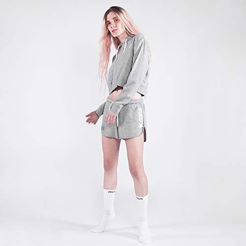 Kappa Zelia Auth Pantalones Cortos, Mujer, Gris, S