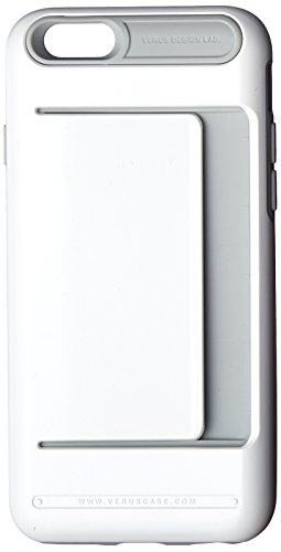 iPhone 6S Case, Verus [Damda Clip][Pearl White] - [Wallet Card Slot][Military Grade Protection] For Apple iPhone 6 6S 4.7