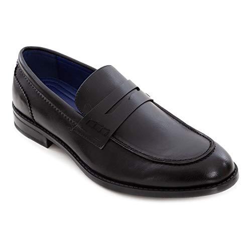 Toocool - Mocassini Uomo Oxford Polacchine Scarpe Uomo Eleganti College Y79 [44,Y85 Nero]