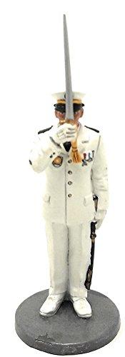 Del Prado Sammelfigur Feuerwehrmann Navy Firefighter Figur Marseille Frankreich 1982 1:32 ca. 7 cm Metall