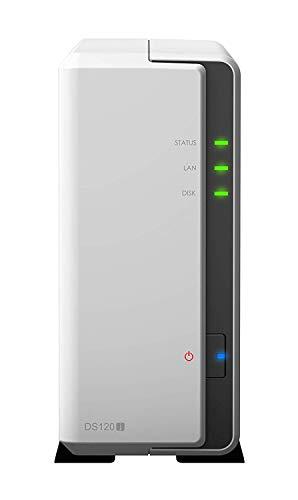 Synology Bundle Synology DS120j 1-Bay 4TB Bundle mit 1x 4TB HDs DS120j-VAR-AMA, Bestpreis Festplatte