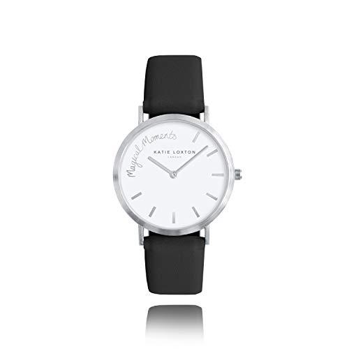 Katie Loxton Magical Moments - Reloj analógico para mujer (talla única), color negro