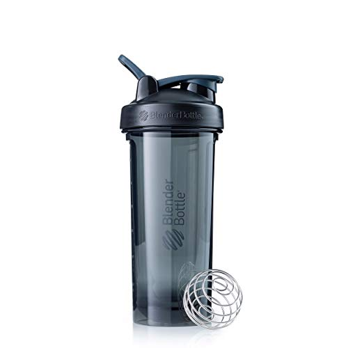 Blender Bottle Pro32 Tritan | Protein Shaker Cup| Diet Shaker| Water Bottle | with Blender Ball | 940ml -black