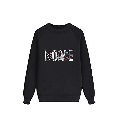 Hui.Hui Ensemble Famille Vêtements de Nuit Impression de Noël Manche Longue Tenues T-Shirt Pullover Tops Blouse et Pantalon Vêtements pour Enfants 3-9 Ans