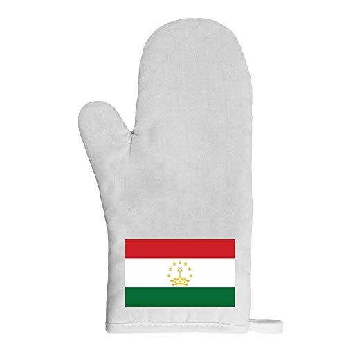 Mygoodprice Ofenhandschuh Topflappen Flagge Tadschikistan