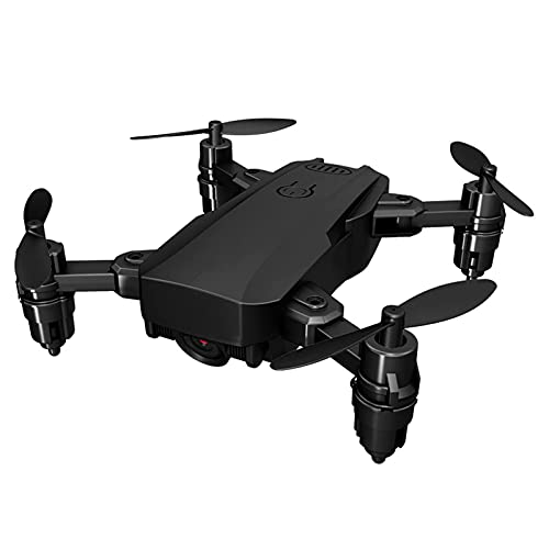 JANEFLY Drones Plegables con cámara 4K HD para Adultos, Mini helicóptero cuadricóptero RC, retención de altitud, Modo sin Cabeza, despegue con una tecla