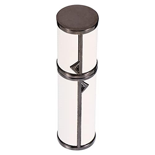 EXCEART Mini De Parfum En Cuir Rechargeable Vide Vaporisateur De Parfum De Parfum Pompe Cas pour Accueil Voyage 5Ml
