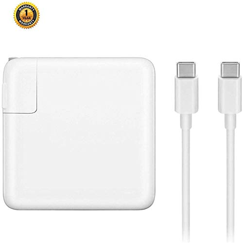 Replacement Charger for MacBook Pro, 61W USB-C to USB-C Ac Adapter Power Charger for MacBook Pro 12 inch 13 inch (gsghdfdfh)