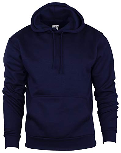 Flirty garderobe Plain Pullover Hooded Sweatshirt Mens Hoody Jumper Klassiek Werk Wear Top S-XXL