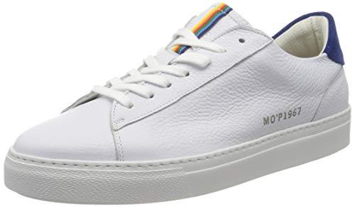 Marc O'Polo Herren 00125743502100 Sneaker, Weiß (White 100), 43 EU