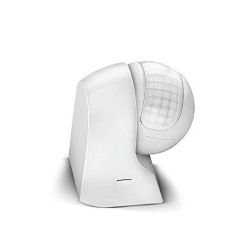 Bewegungsmelder 800W 5A Infrarot Motion Sensor PIR 180° Arbeitsfeld Aufputz Wand Melder Reichweite bis 30 Meter für Innen- / Außenbereich