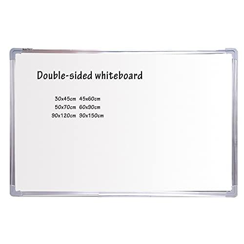 DAPAO Pizarra blanca magnética para pared, pizarrón de borrado en seco, pizarra magnética personal, incluye marcadores, borrador, imanes y kit de montaje
