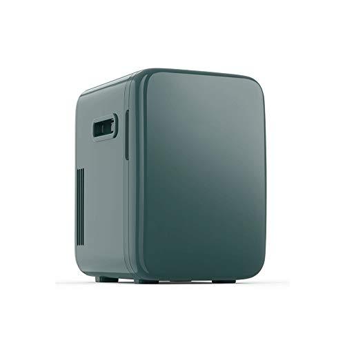 Z-Color Mini Nevera portátil 10Liter AC/DC Desarrollado Enfriador Calentador, Pequeño cosmética Frigorífico, Mute Coche de refrigerador, Utilizado for Maquillaje Y Cuidado de la Piel