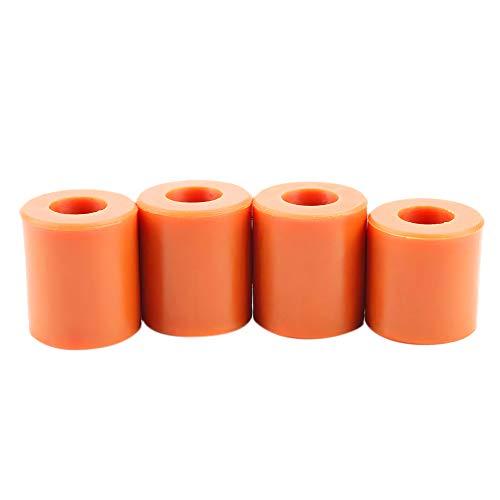 4PCS Resistente Impresora 3D Cama Soportes de silicona sólida columna Heatbed piezas...